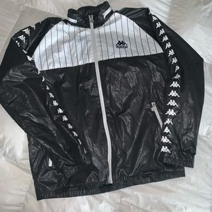 Kappa windbreaker with hoodie